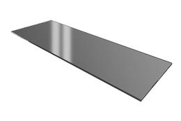 System bufetowy - płyta z przyciemnianego szkła 30x70 cm