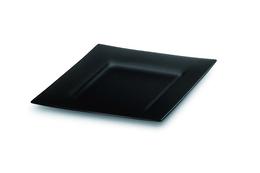 System bufetowy talerz płaski z przyciemnianego plexi